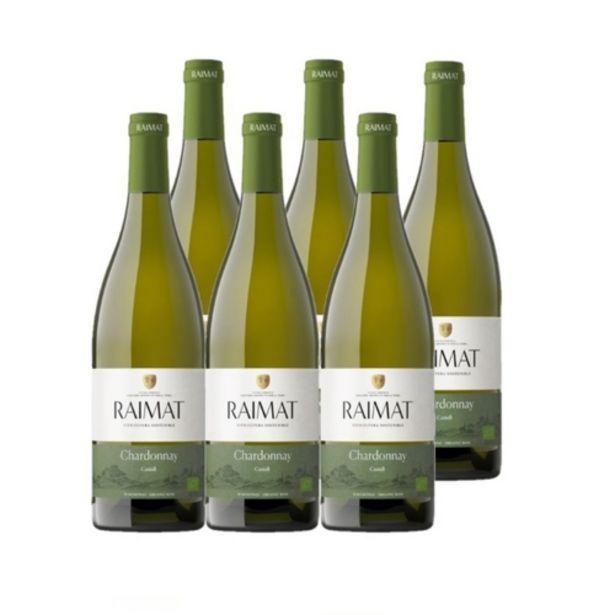 Oferta de CASTELL DE RAIMAT Vi blanc eco DO Costers del Segre Km0 por 37,75€