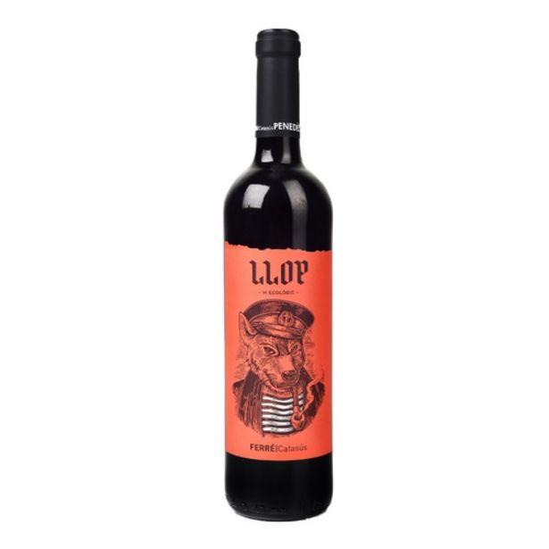 Oferta de LLOP Vi negre DO Penedès ecològic Km0 por 5,99€