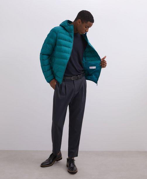 Oferta de Acolchado verde con capucha por 69€