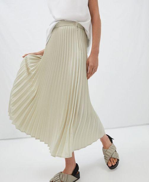 Oferta de Falda midi plisada por 59€