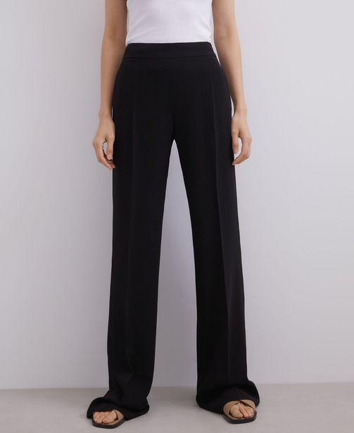 Oferta de Pantalón recto de cintura alta por 49€