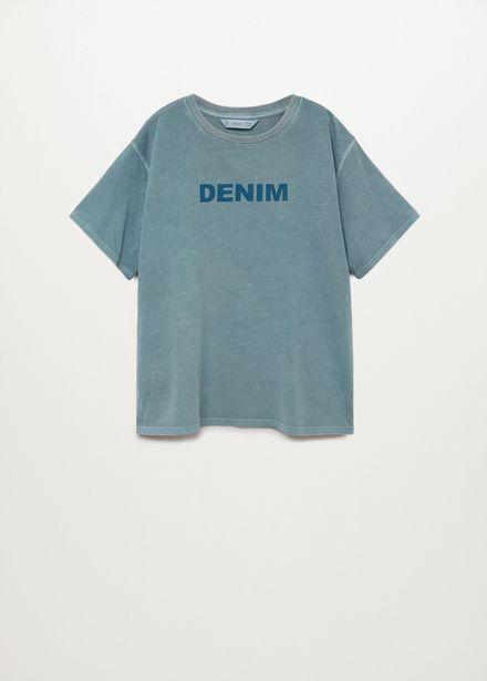 Oferta de Camiseta denim por 4,99€