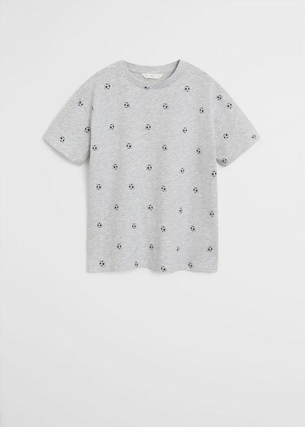 Oferta de Camiseta stamp por 3,99€