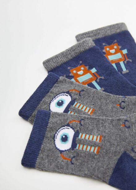 Oferta de Calcetines robot por 2,99€