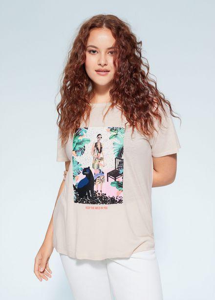 Oferta de Camiseta tropical por 5,99€