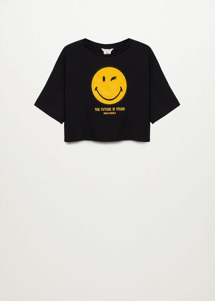 Oferta de Camiseta smile por 4,99€