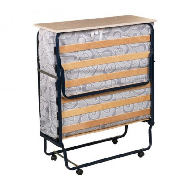 Oferta de Plegatin-Cama somier plegable con colchón espuma por 266,4€