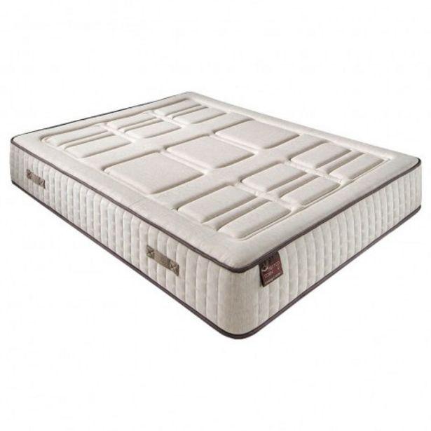 Oferta de Colchón Hr Cotton con visco 27 cm extra firme transpirable por 266,4€