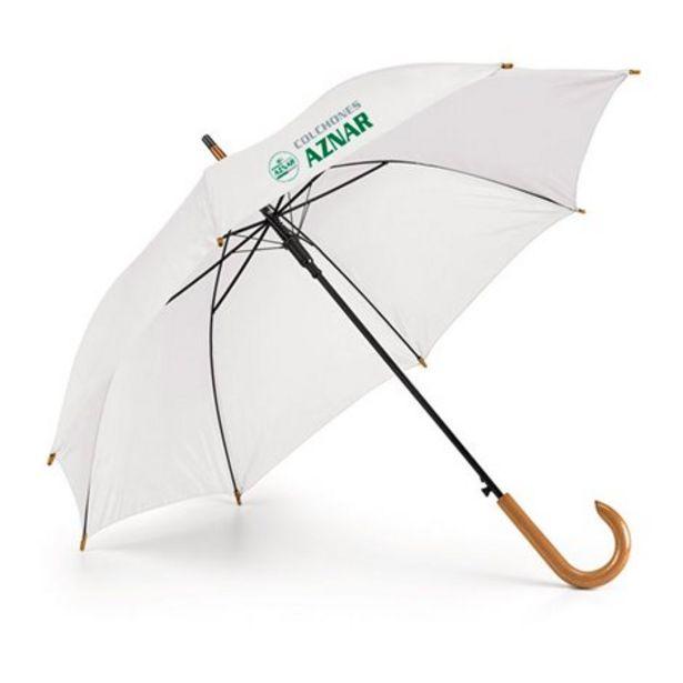 Oferta de Paraguas automatico con mango de madera por 9,99€