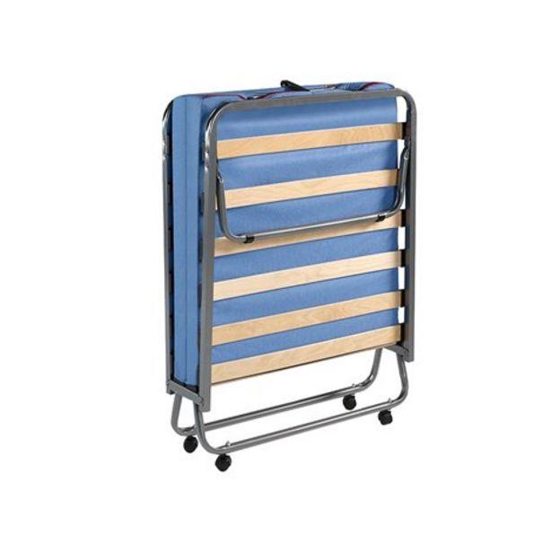 Oferta de Cama plegable individual con colchón Ergoform de espuma por 156€