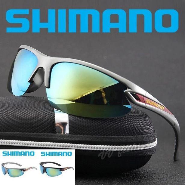 Oferta de SHIMANO-gafas de sol polarizadas para hombre por 3,75€