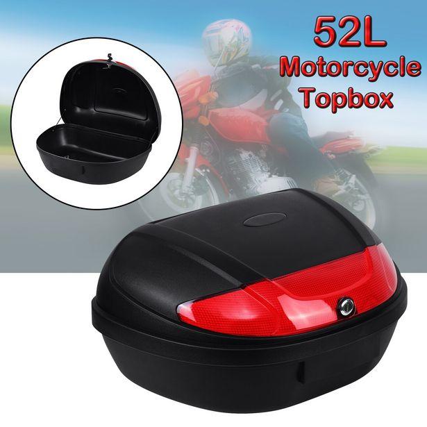 Oferta de Honhill-pestillo de seguridad para maletero de motocicleta por 42,97€