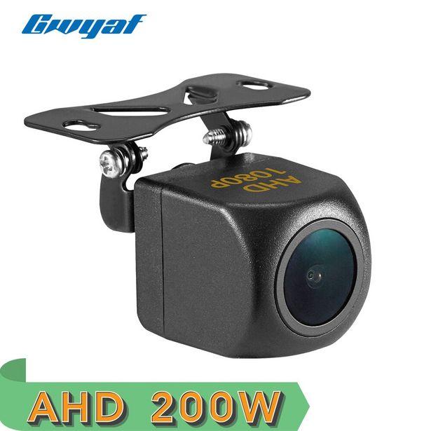 Oferta de Gwyaf-cámara de visión trasera AHD para coche por 13,41€