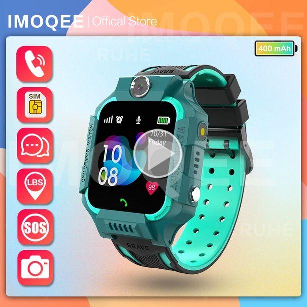 Oferta de Reloj inteligente con gps para niños por 19,26€