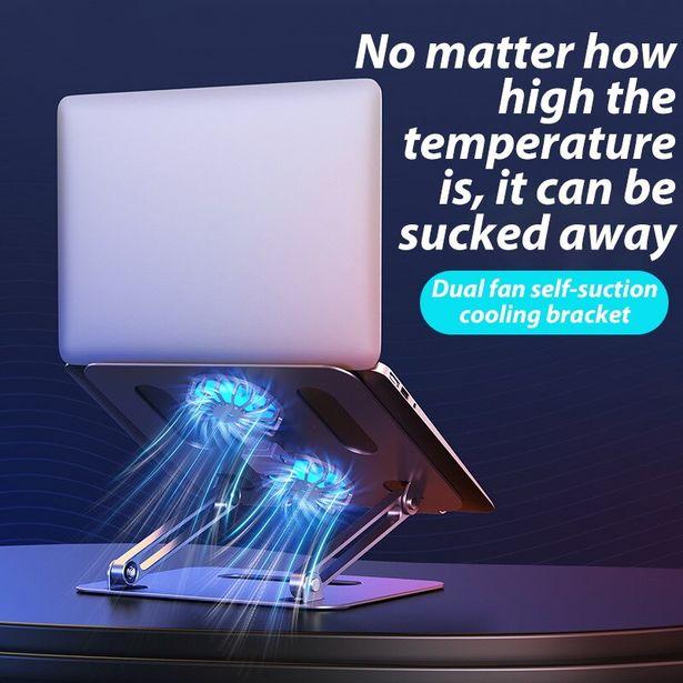 Oferta de Soporte ajustable para ordenador portátil por 30,74€