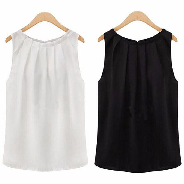 Oferta de Camisa de talla grande para mujer por 4,29€