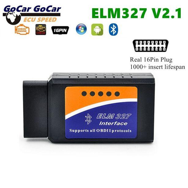 Oferta de ELM327-escáner de enchufe V2.1 OBD2 de 16 Pines por 2,91€