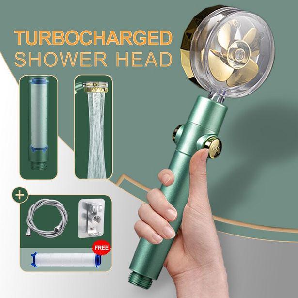 Oferta de Cabezal de ducha de alta presión por 5,52€