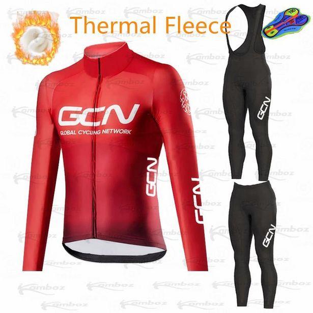 Oferta de GCN-Conjunto de Ropa de Ciclismo de invierno por 21,07€