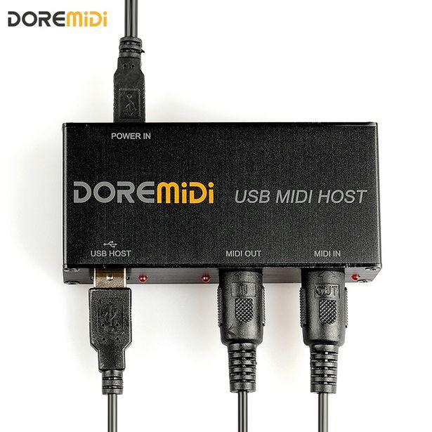 Oferta de Convertidor de servidor MIDI USB por 48,3€
