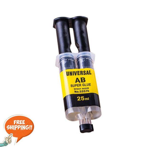 Oferta de Pegamento líquido de resina epoxi para reparación de Metal por 1,64€