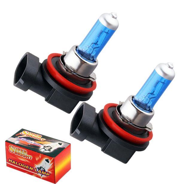 Oferta de Bombillas Led halógenas de alta potencia para faros de coche por 3,06€