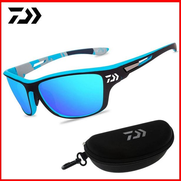 Oferta de Gafas de sol polarizadas de pesca para hombre por 0,26€