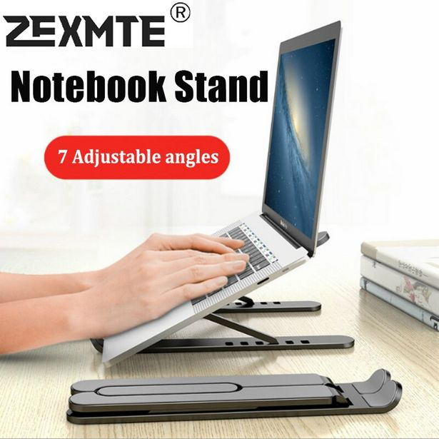 Oferta de Soporte plegable ajustable para ordenador portátil por 9,9€