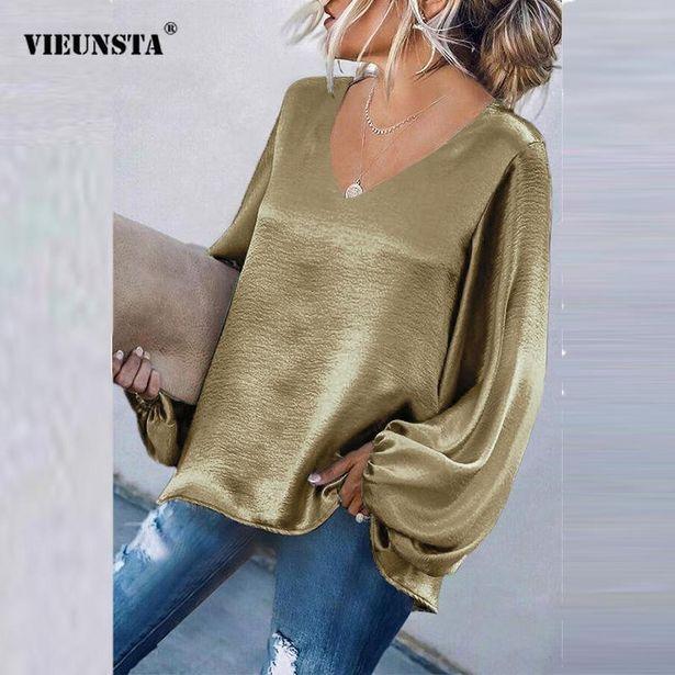 Oferta de Camisas de manga larga para mujer por 14,16€