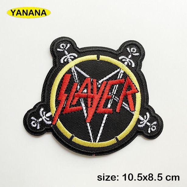 Oferta de Slayer rock-parches para ropa por 0,58€