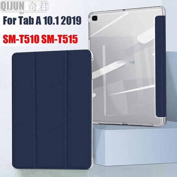 Oferta de Funda de cuero para tableta Samsung Galaxy Tab A por 5,16€