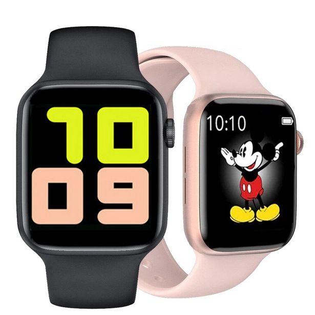 Oferta de 2021 IWO13 reloj inteligente T500 reloj deportivo inteligente mujeres hombres foto Bluetooth llamada de teléfono impermeable de PK IWO12 X8 MAX W37 por 10,62€
