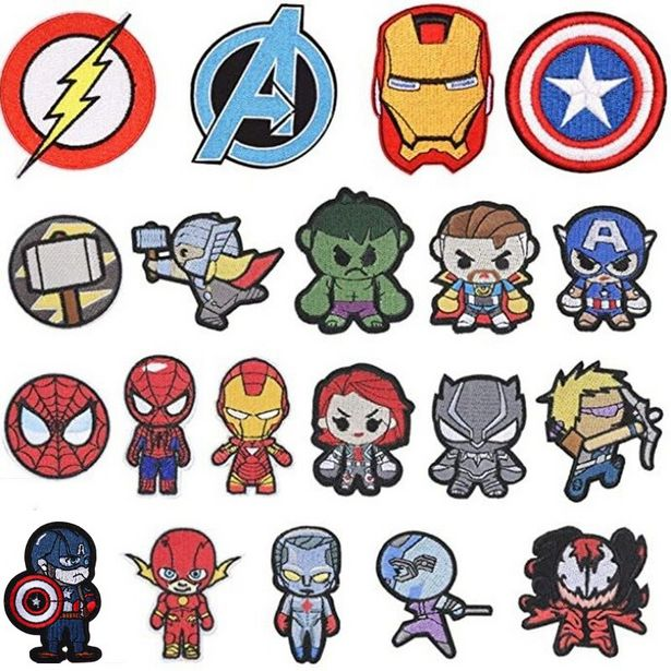 Oferta de Parches de dibujos animados de Marvel por 0,61€