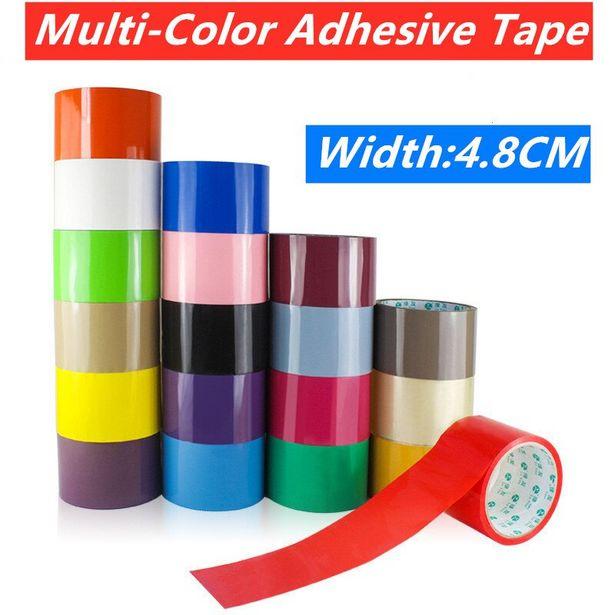 Oferta de Cinta adhesiva multicolor de alta viscosidad por 3,1€