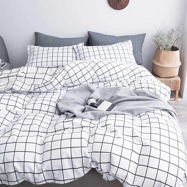 Oferta de Juego de 4 piezas de ropa de cama cómoda por 28,37€