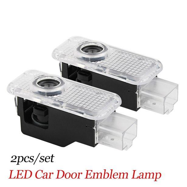 Oferta de Proyector de luz LED de bienvenida para puerta de coche por 8,47€