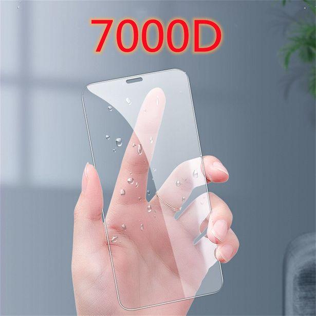 Oferta de 700D vidrio templado para iPhone12 13 X XS X Max mini XR de vidrio templado para iPhone 7 7 6 6s Plus 5 5S SE 11 Pro Protector de pantalla por 1,24€
