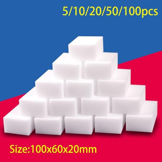 Oferta de Esponja de melamina de 100x60x20mm por 1,03€
