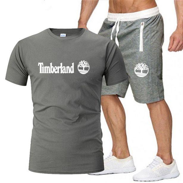 Oferta de Conjunto de camiseta de verano para hombre por 8,58€