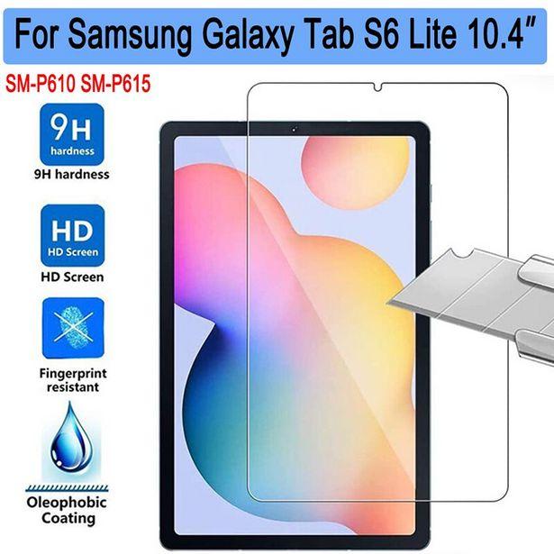 Oferta de Vidrio templado para tableta Samsung Galaxy Tab S6 Lite por 3,47€