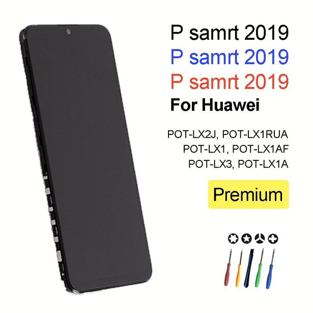 Oferta de Pantalla POT-LX1 POT-LX3 para Huawei P smart 2019 por 28,95€