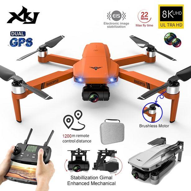 Oferta de Dron plegable XKJ KF102 con GPS por 144,03€