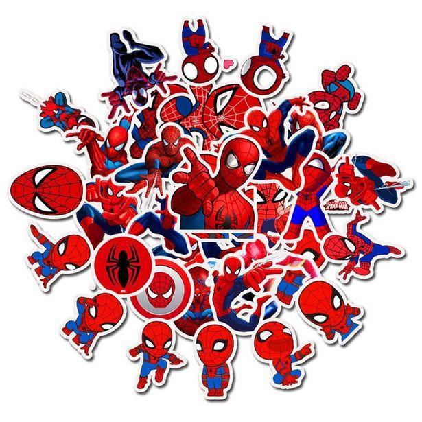 Oferta de Pegatinas de grafiti de Spiderman para niños por 2,11€