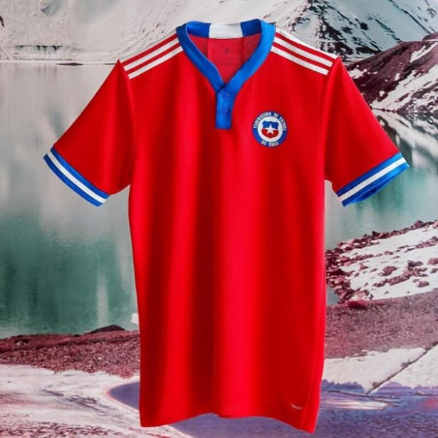 Oferta de Chile Camiseta de fútbol para hombre por 17,28€
