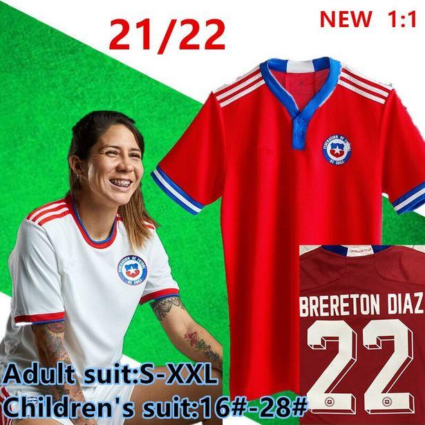 Oferta de Camiseta de fútbol de Chile 2021-22 por 18,34€