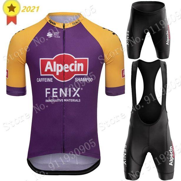 Oferta de Alpecin-Conjunto de ropa de ciclismo Fenix para hombre por 15,86€