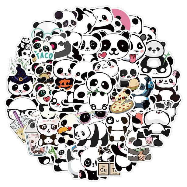 Oferta de Pegatinas de dibujos animados de Panda para niños por 1,48€