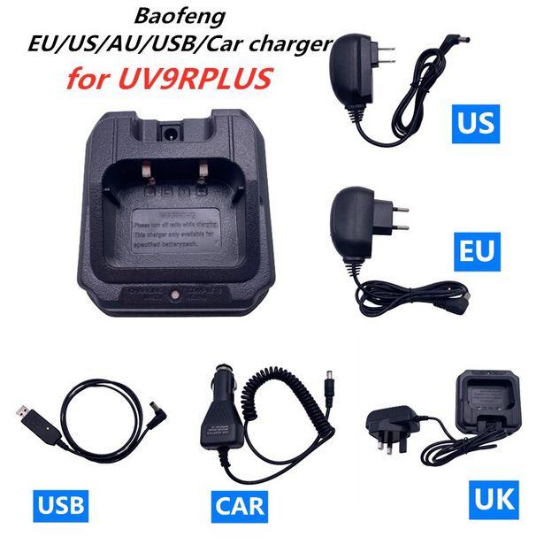 Oferta de Baofeng-cargador de batería UV-9R Plus para coche por 9,07€