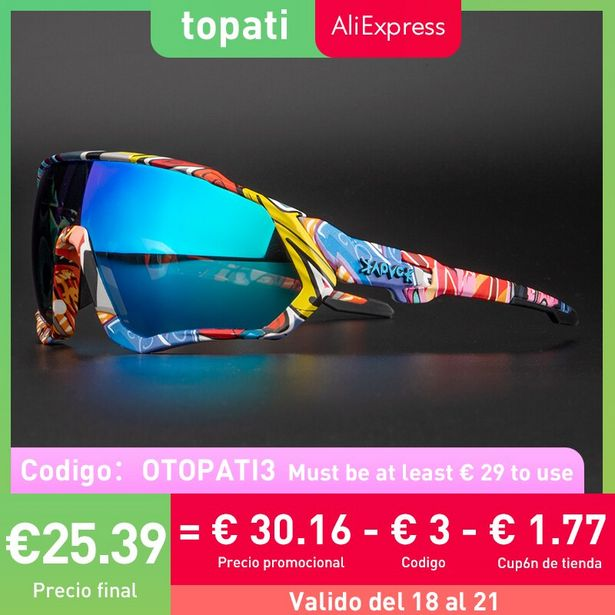 Oferta de Gafas de sol polarizadas para ciclismo por 4,75€
