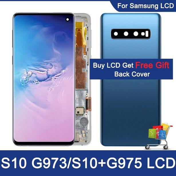 Oferta de Pantalla táctil LCD 100% Original para Samsung Galaxy S10 por 152,82€